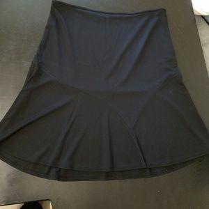 Tahari black A- lineskirt (10)